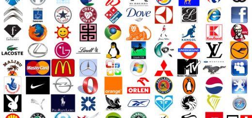 글로벌 회사들의 로고