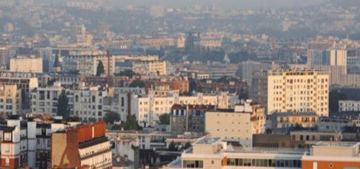 100만명 이상 거대 도시들의 주거지역들