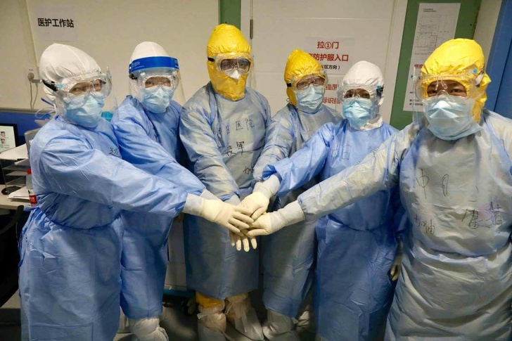 신종코로나 환자를 위해 10일만에 완성된 중국의 병원